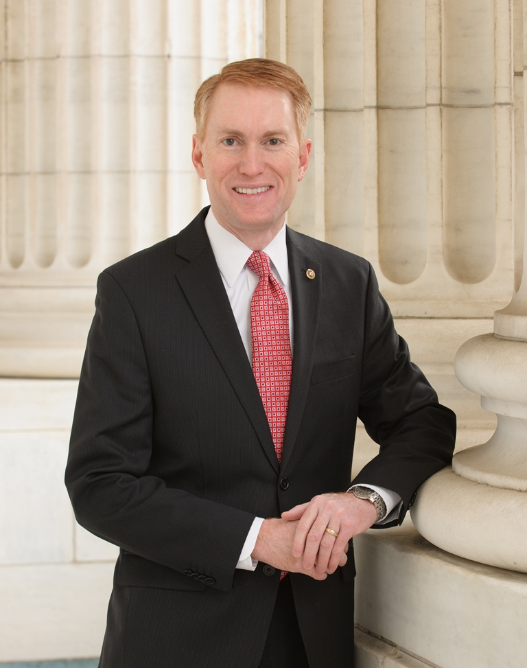 Sen. James Lankford Portrait