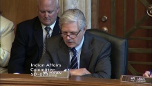 Senator Hoeven Opening Statement at SCIA Oversight Hearing on High-Risk Indian Programs