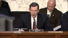 Chairman Barrasso Opening Statement at Oversight Hearing on Substandard Care at IHS Facilities